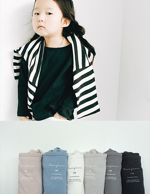 [20%SALE]베이직 포니 티셔츠-6color